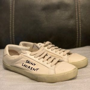 Saint Laurent canvas sneakers 39
